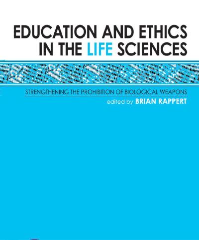 Education and Ethics in Life Sciences (cover)